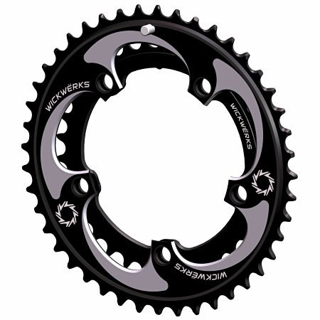 WickWerks 44/34t 110 BCD Cyclocross Chainrings by WickWerks (Image #3)