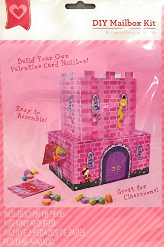Valentines or Other Occasions Mailbox Kit or Centerpiece (Princess (Valentines Day Cards Diy)