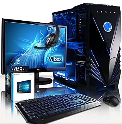 VIBOX Cetus package54 Gaming PC con WarThunder, 21.5 HD ...