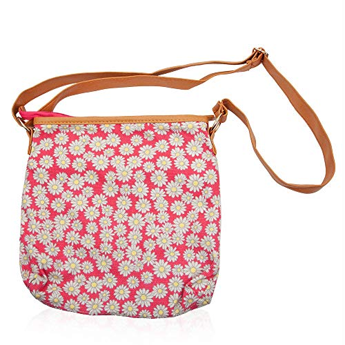 Colour Cm Flower Pink Flower Multi Pattern Multi Pink Size Colour Crossbody 26x26 Odppw