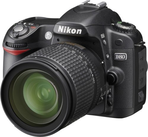 Nikon D80 Digital SLR Camera (18-135mm Lens Kit) (Renewed)