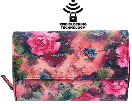 mundi-big-fat-womens-rfid-blocking-wallet-clutch-organizer-with-change-pocket-flower-provence