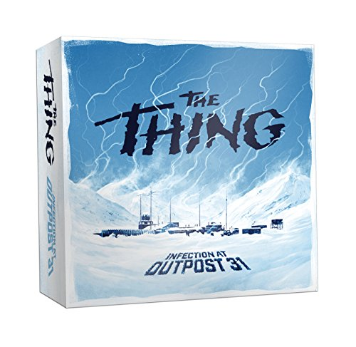 USAopoly the Thing Infection AT Outpost 31 Strategy Game by USAopoly