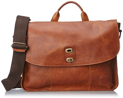 Will Leather Kent Messenger Bag,Cognac,One Size