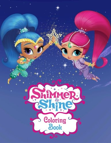 Shimmer And Shine Coloring Book For Kids Adults Activity Great Starter