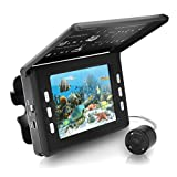 Pyle-Pro PFSHCMR1 Underwater Waterproof Night Vision Fishing Camera and Video Record System with 30 Mega Pixels/3.5-Inch Display