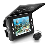 Pyle PFSHCMR1 Underwater Waterproof Night Vision Fishing Camera and Video Record System with 30 Mega Pixels/3.5-Inch Display