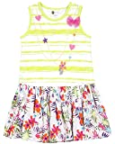 Petit Lem Little Girls Jersey Challis Dress, K Tropical Print, 6