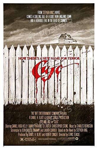 MCPosters - Cujo 1983 Glossy Finish Movie Poster - MCP825 (24