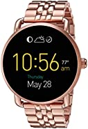 Fossil Q Wander Touchscreen Rose Gold Tone Stainless Steel Smartwatch