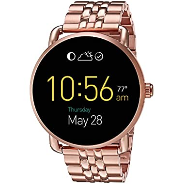 Fossil Processor Stainless Steel Casual Watch, Color:Rose Gold-Toned (Model: FTW2112)
