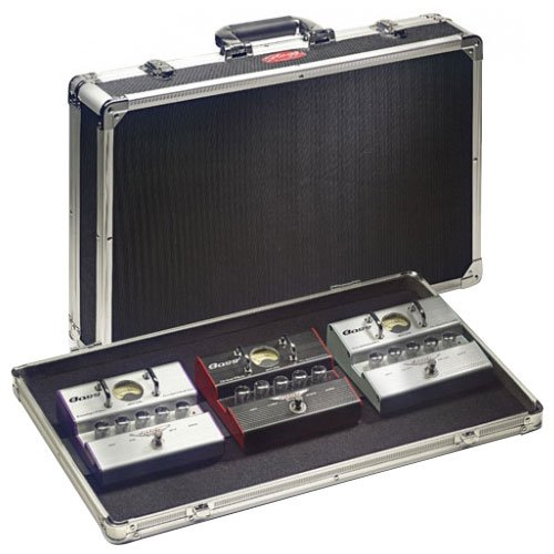 Stagg UPC-535 Guitar Effect Pedals Case with High Density Foam Padded Interior - Black