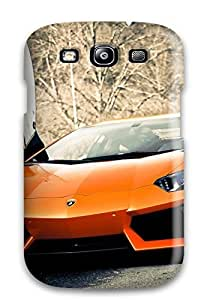 Galaxy S3 Case, Premium Protective Case With Awesome Look - Super Lamborghini Aventador Car
