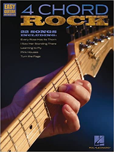 Amazon 4 Chord Rock Easy Guitar With Notes Tab
