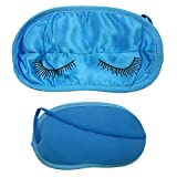 Sleeping Eye Mask Silk Blindfold Shade Travel Aid Rest Sleep Cover Blindfold New