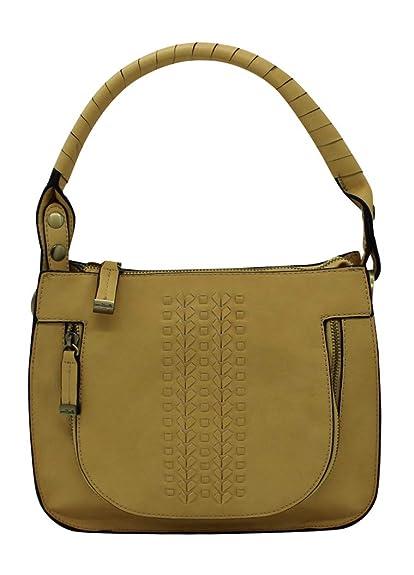 f53693331407 Amazon.com: Simply Noelle Dream Weaver Satchel (Mimosa): Shoes