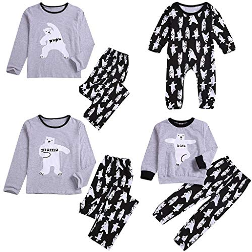 Lurryly Gifts for 7 Year Old Girl Rompers for Baby Girls Toddler Boy Clothes 2T,Clothes for Teens Clothes for Baby Girls Jumpsuit for Girls 6-7 Pajamas for Girls❤Gray Kids❤❤18-24 Months