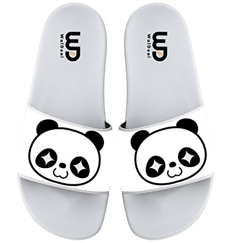 Casual For Slide Print Boy Slippers Girl Panda Shoes Women Summer Kid Men Cartoon Cute Face Sandals Outdoor qTwfOg