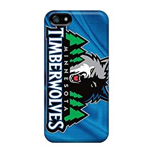 Protective Tpu Case With Fashion Design For Iphone 5/5s (minn. Timberwolves)
