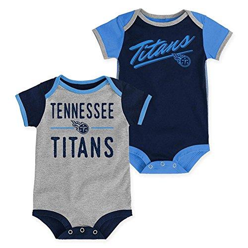 Tennessee Titans Infants Newborn Descendant 2 Piece Creeper Set (12 Months)