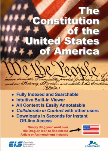 The Constitution of the United States of America - Secure Windows App [Download] by Eurofield Information...