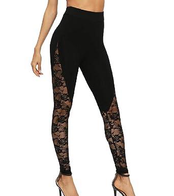 9795c9dbbda28 Zimaes-Women Funky Tights Skinny Fitness Mesh Full Length Tights Leggings  at Amazon Women's Clothing store:
