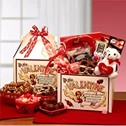 To My Valentine - Valentine's Day Gift Basket