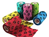 3 inch Vet Wrap Tape Bulk, FDA Approved, Dog Cat Pet Horse...