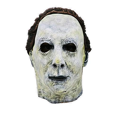 Mintu Universe Michael Myers Melting Latex Helmet Collectible Scary Mask Toy Face Costume Accessories ()