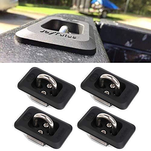 JoyTutus Fits Dodge Ram Stake Pocket Cargo Tie Down Anchor fits Ford F150 Chevy Silverado GMC Sierra 1999 to 2013