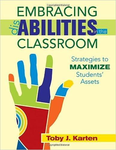 Livres gratuits à télécharger Embracing Disabilities in the Classroom: Strategies to Maximize Students' Assets en français PDF by Toby J. Karten