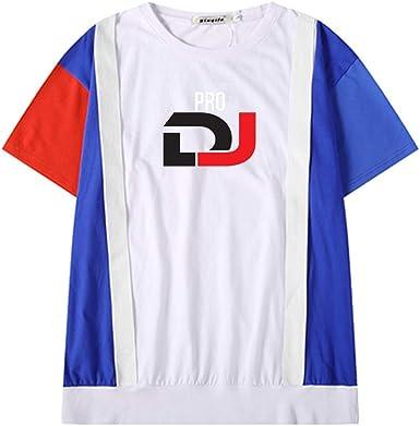Pioneer Pro DJ Camiseta Hombre Camisas de algodón de Manga Corta ...