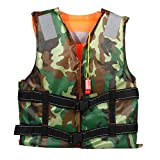 Life Vest Adult Swimming Jacket Foam Boating Ski Fishing Drifting Safety Jackets Colete Salva Vidas With Whistle Prevention