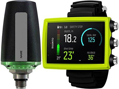 Suunto Eon Core Wrist Dive Computer with Transmitter & USB, Eon Core Lime, with Transmitter
