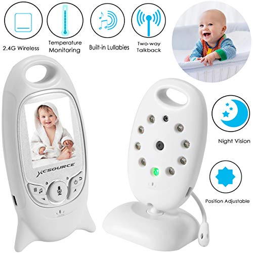 Video Baby Monitor Wireless Camera+2 Way Talk Back Audio+Nig