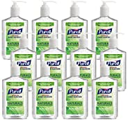 PURELL NATURALS Advanced Hand Sanitizer Gel, with Skin Conditioners and Essential Oils, 12 fl oz Counter Top P