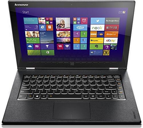 Lenovo Yoga 2 Pro-13 33,8 cm (13,3 Zoll QHD+ IPS) Convertible Ultrabook (Intel Core i7-4510U, 3,1GHz, 8GB RAM, 512GB SSD, Intel HD Graphics 4400, Touchscreen, Win 8.1) clementine orange