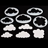 Fluffy Cloud Cutter Set of 5 by FMM