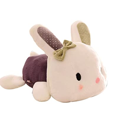 Anniston Plush Toy, Rabbit Doll Birthday Gift Smooth Animal Bolster Kids Toy Home Store Decoration Ultra Soft Furry Stuffed Animal Plush Gifts for Kids Boys Girls Small Dogs: Home & Kitchen