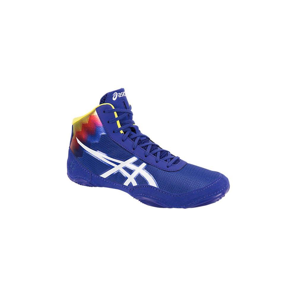 Asics JB Elite V2.0 Flame Mens Wrestling Shoe 12.5 True Blue-White by ASICS