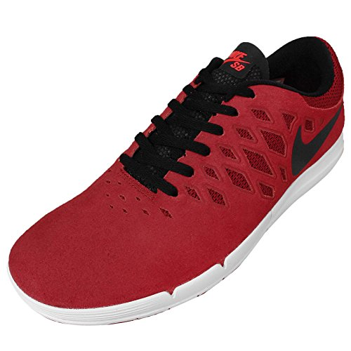 Nike Free Sb Unisex-erwachsene Basso-top Palestra Rosso / Nero-luminoso Cremisi