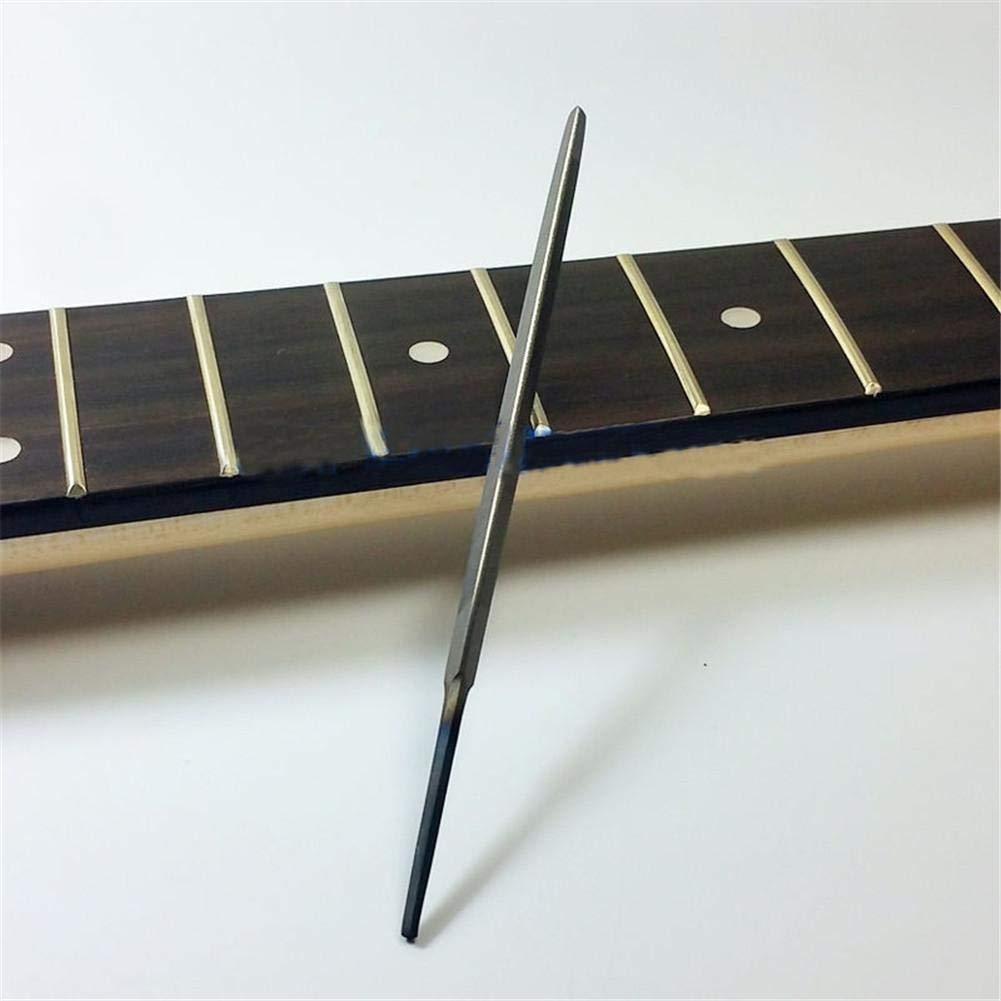 Beimaji Trade Smooth Corner Fret File 3-Corner Luthier Guitar End Dressing Fret File for Guitar Repair Tool