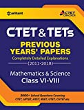 CTET & TETs Previous Years Papers Class 6-8 Mathematics & Science 2019