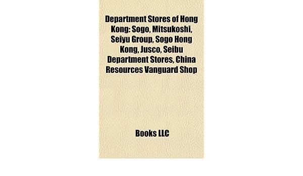 Department Stores of Hong Kong: Books LLC: Amazon com au: Books