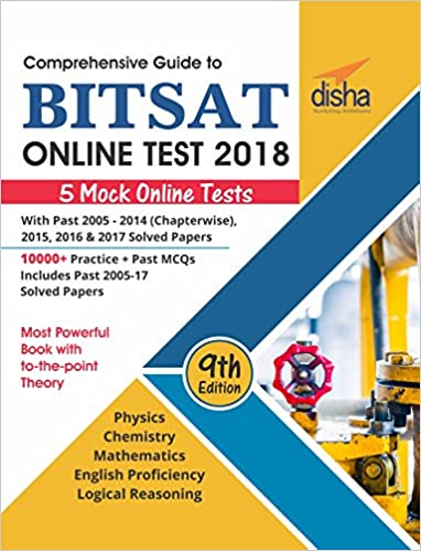 Buy comprehensive guide to bitsat online test 2018 with past 2005 buy comprehensive guide to bitsat online test 2018 with past 2005 2017 solved papers 5 mock online tests book online at low prices in india fandeluxe Choice Image