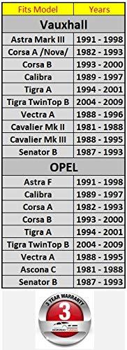 Sportlenkrad /& Lenkradnabe//Lenkrad 320mm Special Perforiertem Griffbereich hohe//DoradoTuning Geeignet Opel Astra F//Corsa A; B//Calibra//Tigra A; B//Vectra A//Ascona C TUV/_M10/_220