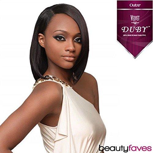 Velvet Remi Duby Human Hair Weave - C1B/30