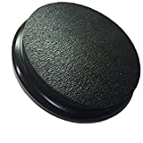 Black Padded Bucket Lid Black Frame/Black Pad by Bucket Lidz 1 Inch Pad