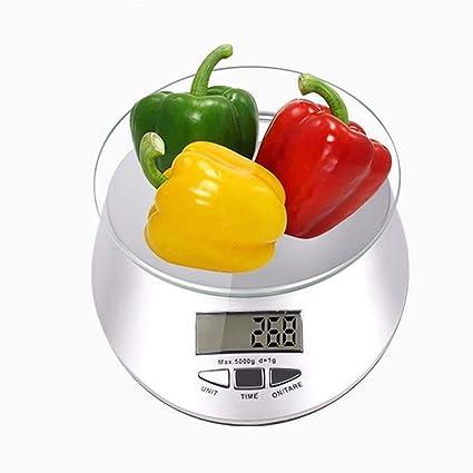 DUDDP Básculas de Cocina Multifuncional Cocina de Vidrio báscula de precisión Cocina Cocina electrónica LED Mercado