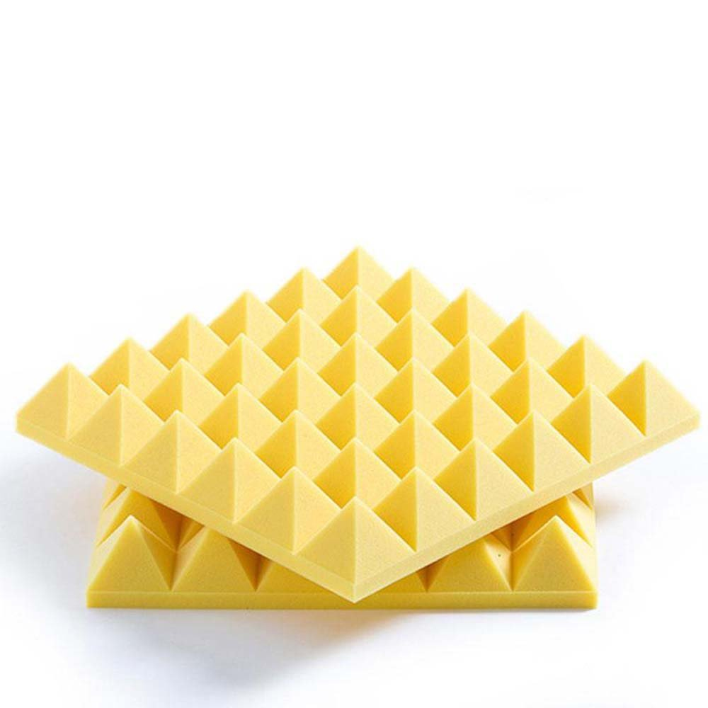 Amazon.com: BEIYIN (12Pk) Pyramid Acoustic soundproof Tiles ...